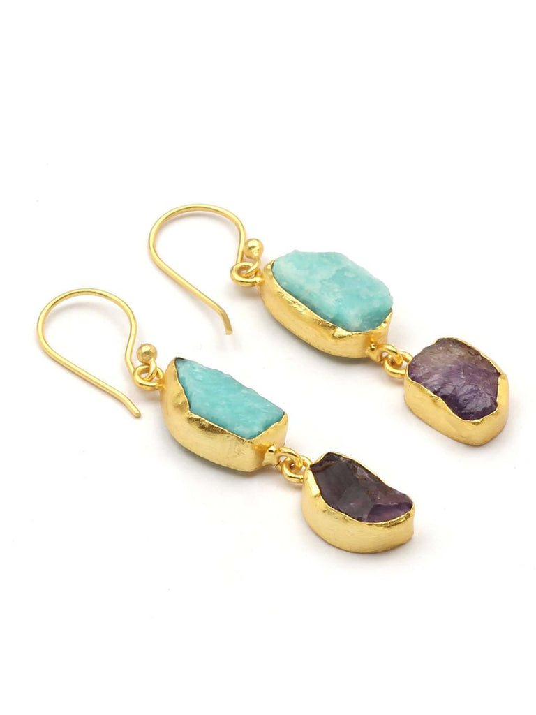 Do Stone Earrings - Ocean