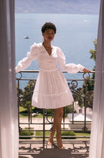 Robe blanche - Flow Fashion