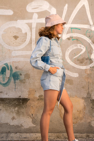 Charger l'image dans la galerie, Denim jumpsuit - NAKD vetements