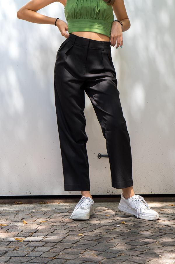 Pantalon noir suit pants - NAKD vetements