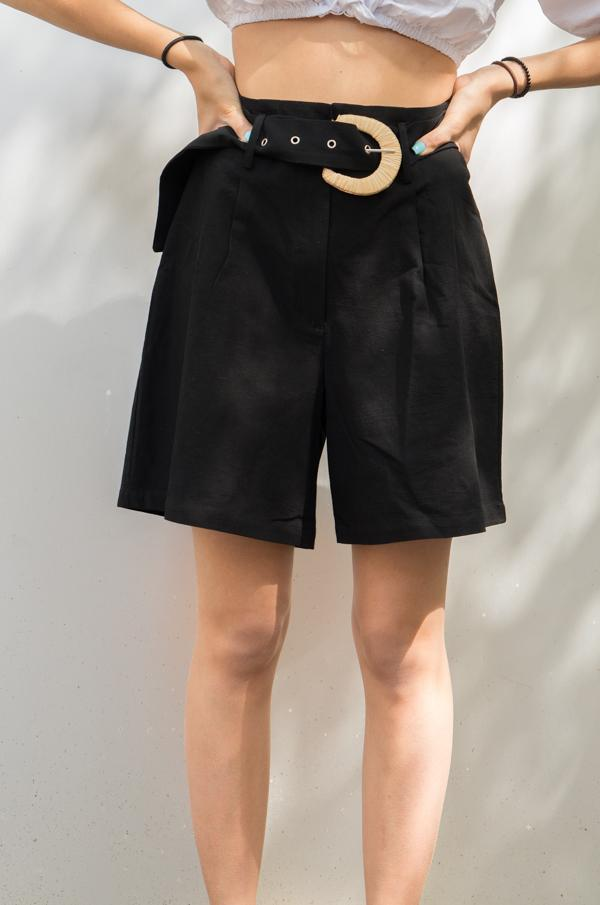 Long shorts black - Glamorous clothing