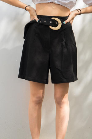 Charger l'image dans la galerie, Long shorts black - Glamorous clothing
