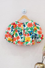 Ladies Top - Bright Floral
