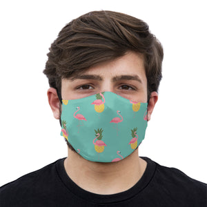 mouth mask pineapple