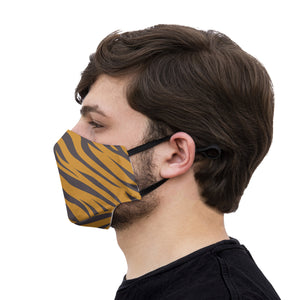 mouth mask red tiger
