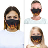 burn up mouth mask