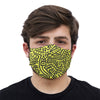 mouth mask yellow lab