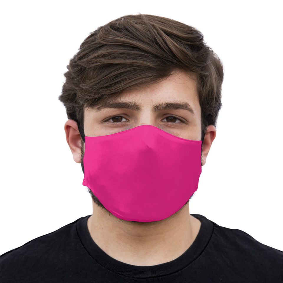 mouth mask fucsia face