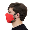 mouth mask red face