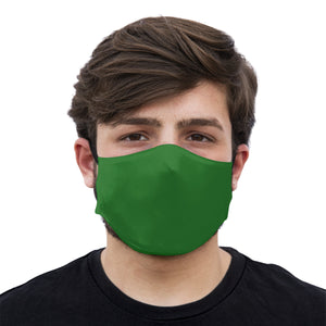 mouth mask green face