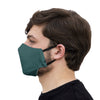 mouth mask dark green face