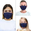 mouth mask dark blue face