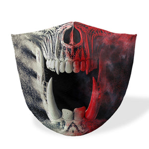 mouth mask beast skull
