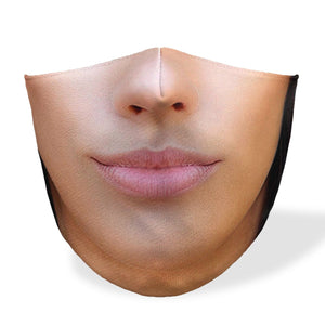 Realistic Lady B Mouth Mask