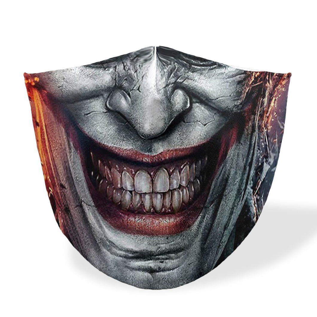joker mouth mask