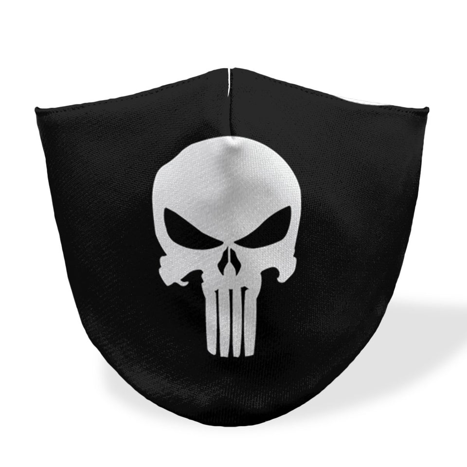 punisher mouth mask