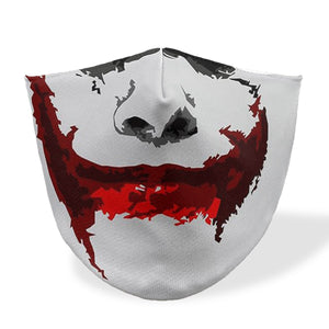 joker minecraft mouth mask