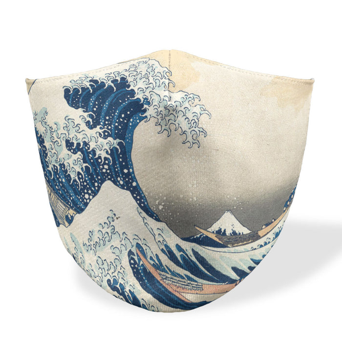 The Great Wave Mouth Mask