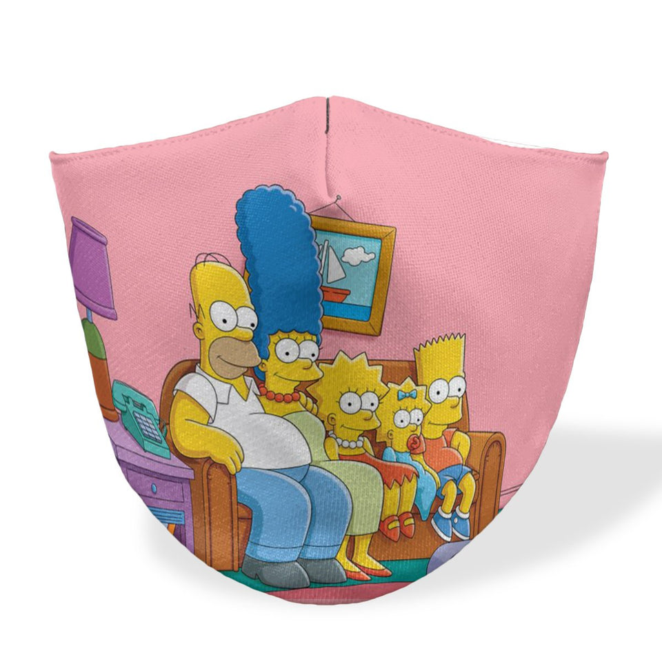 Simpson Couch Mouth Mask