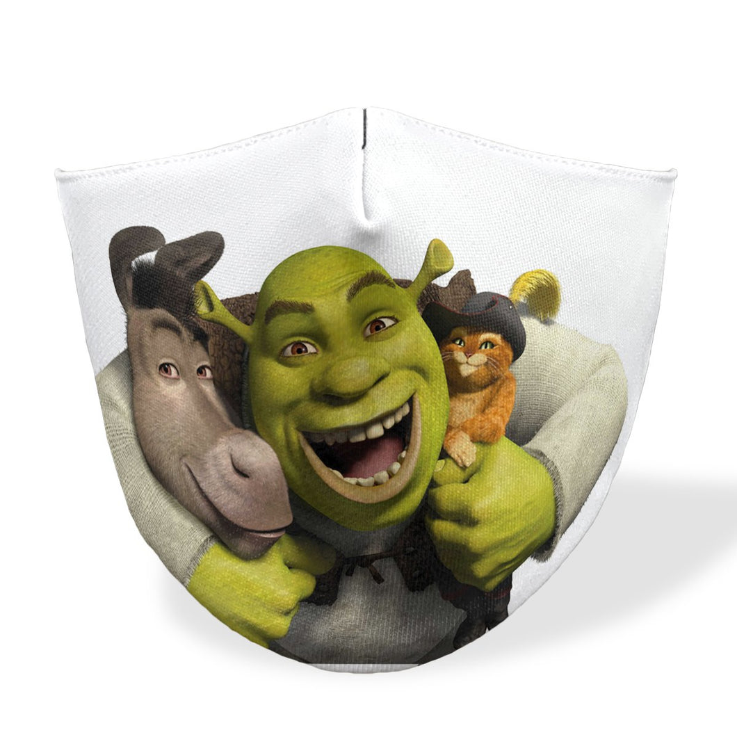 Shrek Mouth Mask