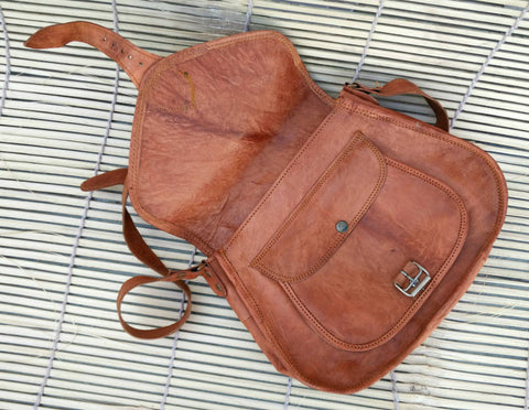 Rajasthani Leather Sling Bags