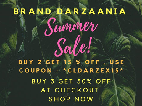 Darzaania Summer Sale Offer