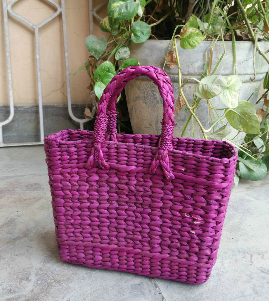Kouna Craft Shopping Basket Small