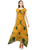 clamp dyed maxi dress online Darzaania