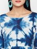 Clamp Dyed Shibori cotton kurtis online