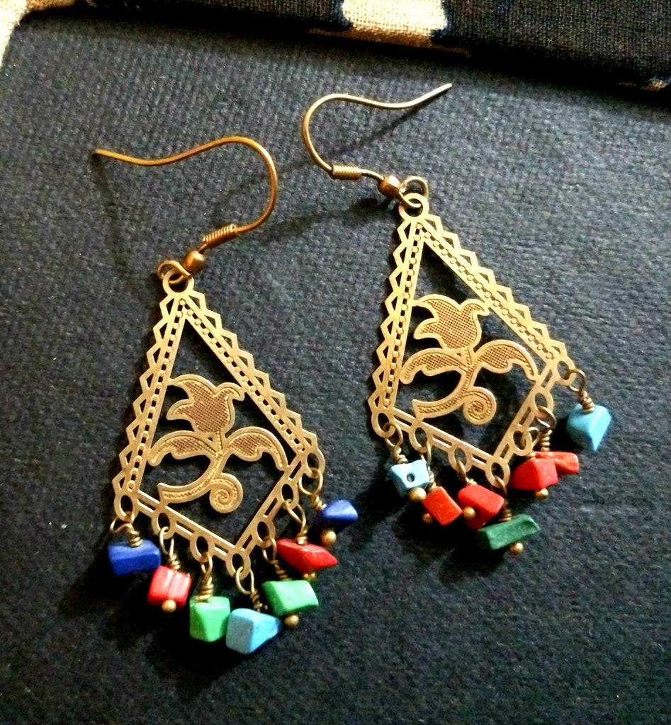 Gold Plated Designer Earrings