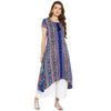Darzaania Asymmetric Kurta for women