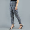 Darzaania Grey Trousers for Women Online