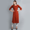 Darzaania Brown Cotton Kurtis for Women