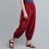 Cotton Plain Harem Pants online