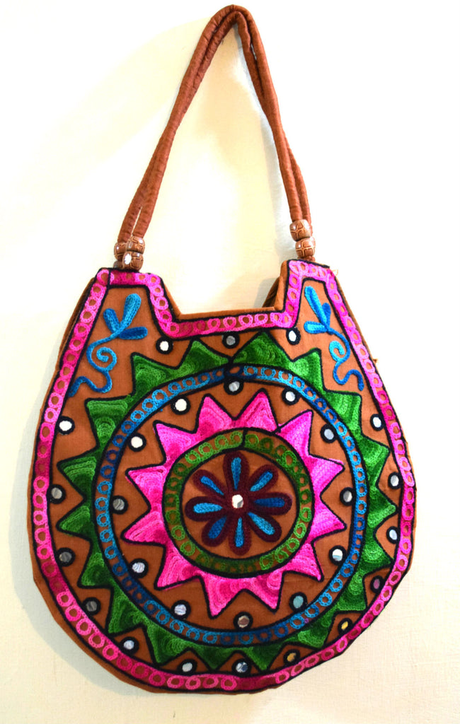 Kutch Embroidered Shoulder Bag