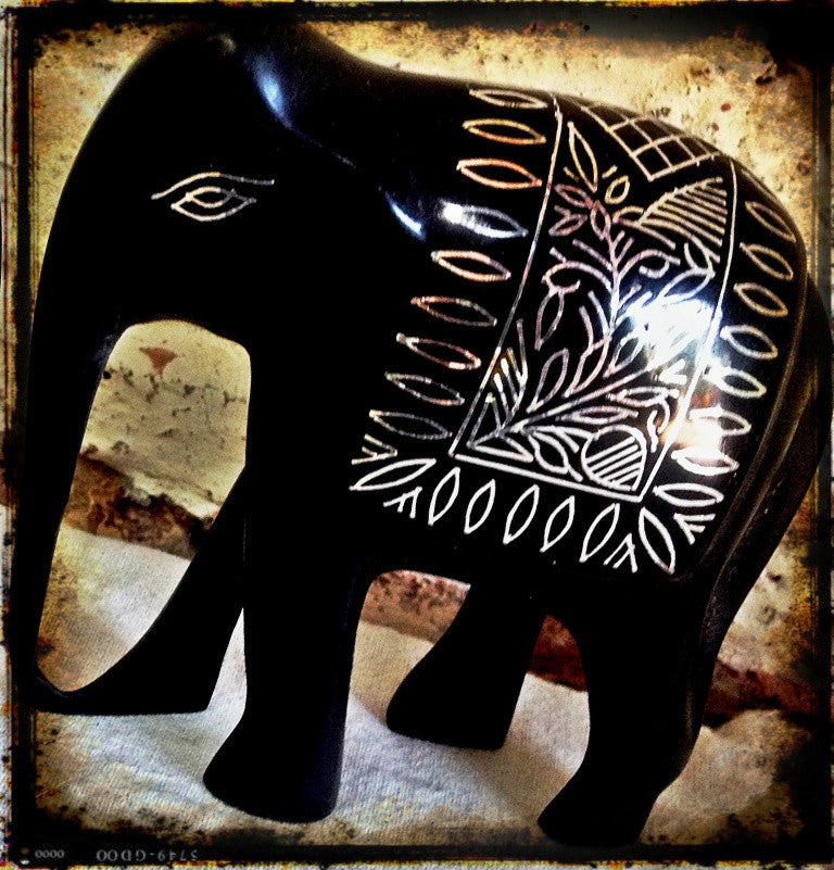 Showpiece Elephant Tusker - Pure Silver Wire Craft