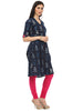 Indigo Kurti for women dabu prints