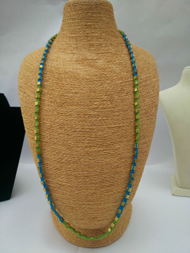 Dokra Long Colourful Necklace