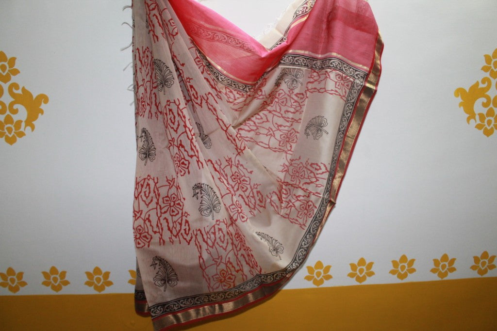 Maheshwari Cotton Silk Dupatta