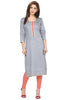 Partywear Long Silk Kurta for women online