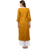 Mustard Kurti for women online