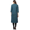 Green Color Long Kurti for women