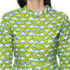Green Printed Kurtas for women Craftsandlooms