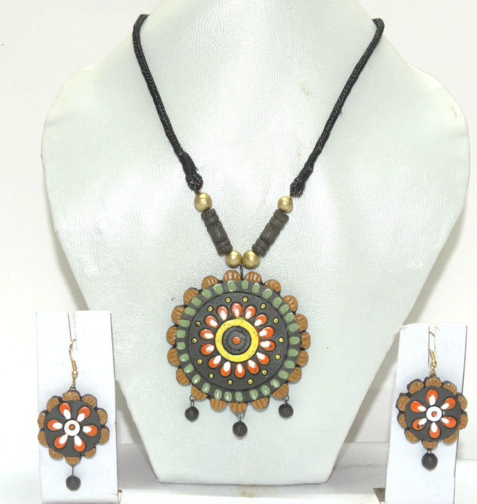 Terracotta Jewellery - Terracota Necklace Set