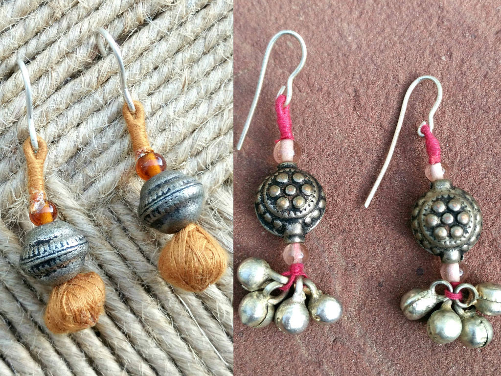 Patwa Earrings - Set of 2