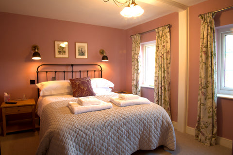 A Maud bed at The Bridge House bed and breakfast, Bampton