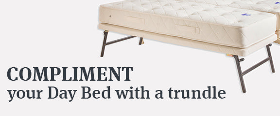 Add a trundle to your day bed