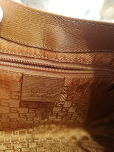 Gucci vintage leather bag