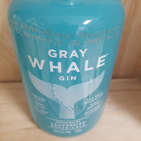 Gray Whale Gin 750ml Oops