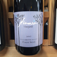 Hinman Willamette Pinot Noir 750ml